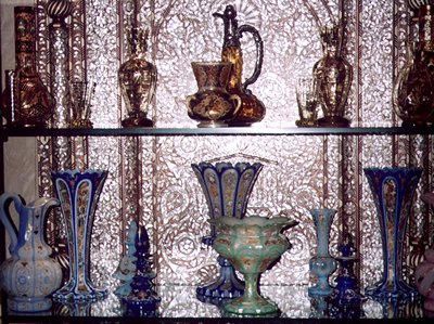 Persian Opaline glass